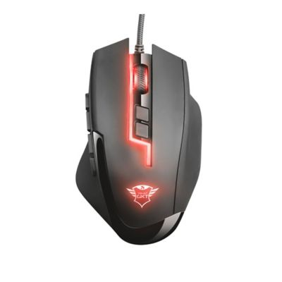 Mouse Gamer Gxt 164 Sikandia Mmo Alámbrico USB Negro 21726