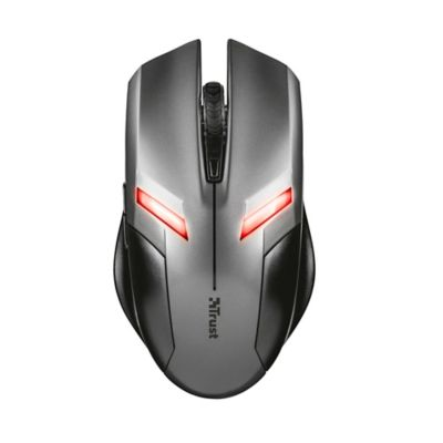 Mouse Gamer Ziva Alámbrico USB Negro-Gris 21512