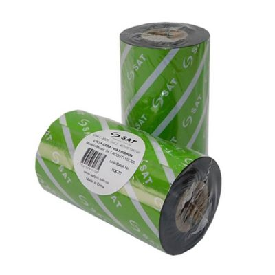 Cinta Ribbon de Cera 110mmx450m Out para Etiquetas