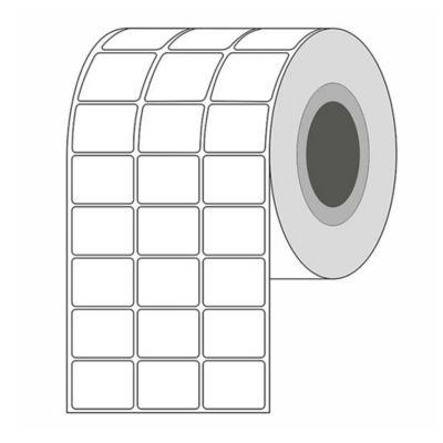 Etiquetas Blancas Autoadhesiva 32mm x 25mm.
