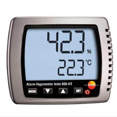 Termohigrómetro con LED de Alarma