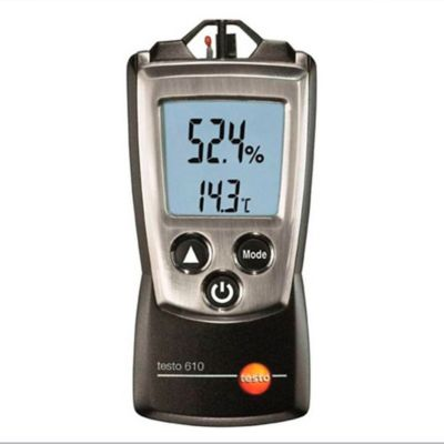Termohigrómetro Medidor de Humedad Ambiente en Interiores