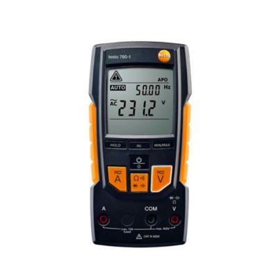 Multímetro Digital con Autodetección de Parámetros