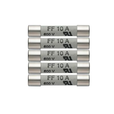 Fusibles de Repuesto 10A / 600V Paquete x5 Unidades