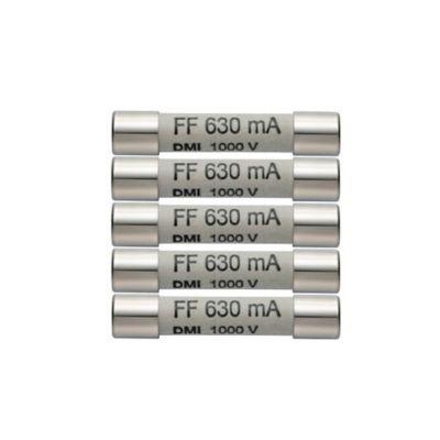 Fusibles de Repuesto 630 Ma / 1000V Paquete x5 Unidades