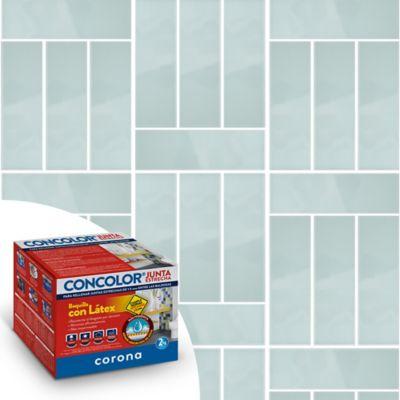 Concolor Anti hongos Súper Blanco 1-5Milímetros X2Kg