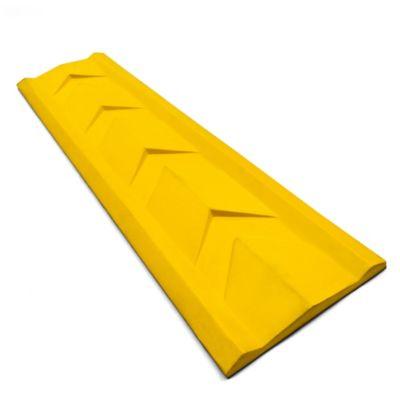 Guardapuertas 76x19x6.5 cm Amarillo