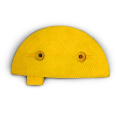 Reductor Velocidad Punta Redonda Amarilla 30x15 cm