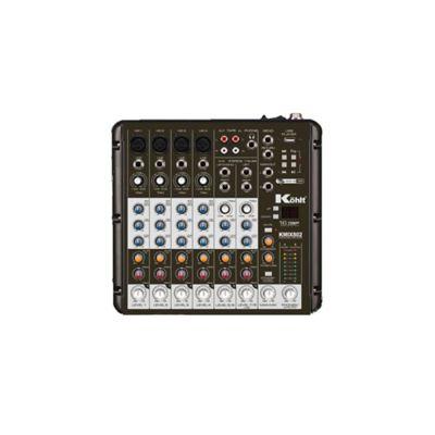 Consola Mezclador de Audio 6Ch KMIX802