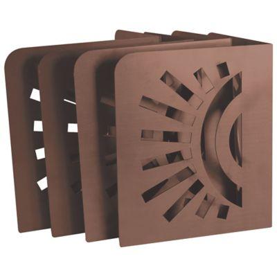 Soportes para Cama de Jardín Diseño Sol Set x 4
