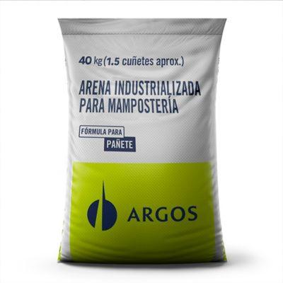 Arena Pañete Argos Sacos de 40kg