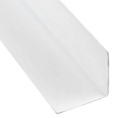 Ángulo PVC Blanco Satín 30x30mm 2.6m