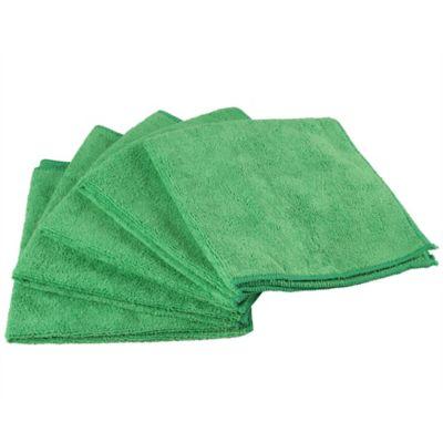 Paño Microfibra Color Verde x5 Unidades