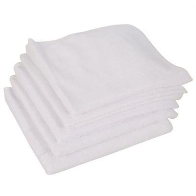 Paño Microfibra Color Blanco x5 Unidades