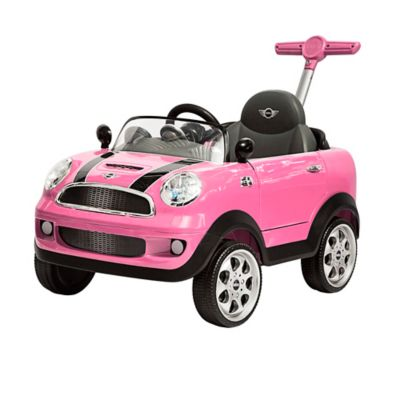 Push Car Minicooper Rosado