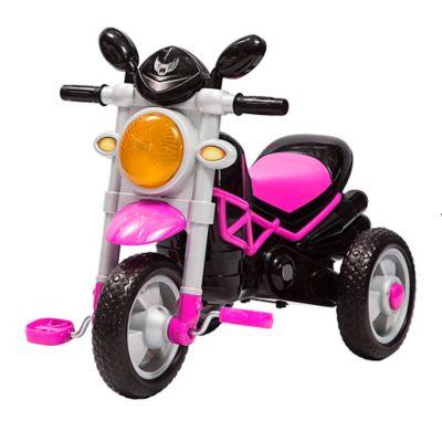 Triciclo Moto Trike Rosado