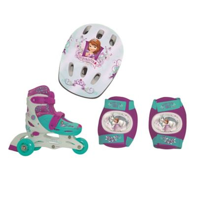 Set de Patines 2 en 1 Princesa Sofía
