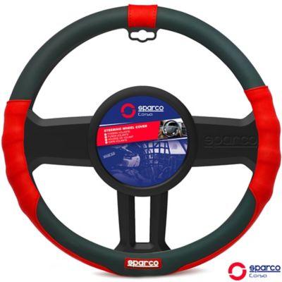 Cubre Volante Negro- Rojo Arco