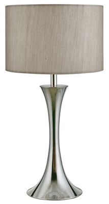 Lámpara Mesa Tomar 1 Luz E27 Satín