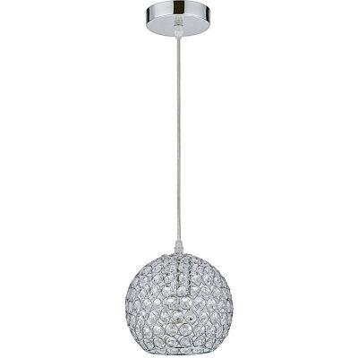 Lámpara Colgante Almada 1 Luz E27 Tipo Cristal