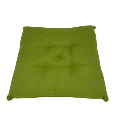 Cojin Capitoneado 40X40 Deco Verde