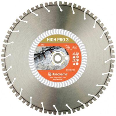 Disco HIGH PRO3 de  16 Pulg para Concreto Altamente Reforzado