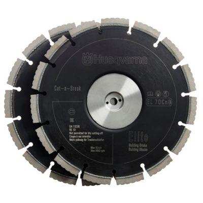 Disco Doble EL70CNB de  9 pulg para Material Abrasivo