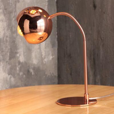 Lámpara Mesa Amadora 1 Luz E27 Cobre