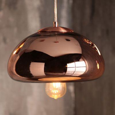 Lámpara Colgante Michel 1 Luz E27 Cobre