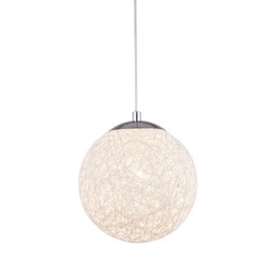 Lámpara Colgante Caelum 1 Luz E27 Blanco