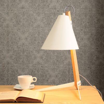 Lámpara   Escritorio Tribuna 1 Luz E27 Blanco