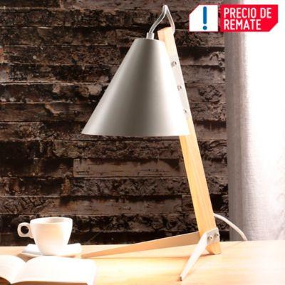 Lámpara   Escritorio Tribuna 1 Luz E27 Gris