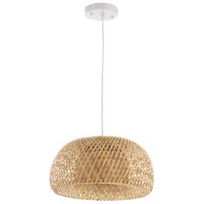 LAMP COLG NATURE 1L E27 60W BAMBOO