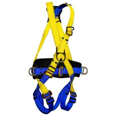 Arnés Estándar Tipo X de 4 Argollas Multipropósito con Faja Protector Lumbar