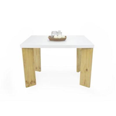 Mesa para Comedor Sevilla 4 Puestos Blanco
