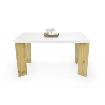 Mesa para Comedor Sevilla 6 Puestos Blanco