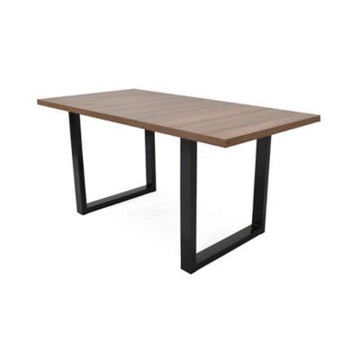Mesa para Comedor Marsella 6 Puestos 160x80x75cm Caramelo