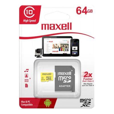 Memoria Micro SD 64 GB Clase 10