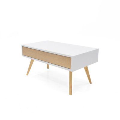Mesa de Centro Sion 70x40x35.4cm Blanco