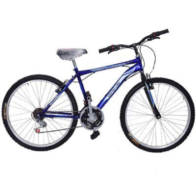 """Bicicleta Todoterreno Montaña Newport Rin 26"""" Azul-Blanco"""