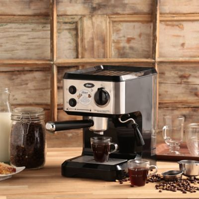 Cafetera Oster para Expresso y Capuccino