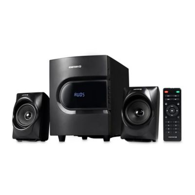 Parlantes con Subwoofer 2.1 Negro 30 Watts MS-2131