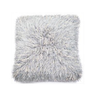 Cojin Shaggy Gris 45x45 cm