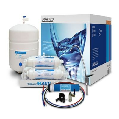 Osmosis Inversa de 4 Etapas con Bomba de Presión