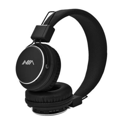 Audífonos NIA Inalámbricos Ajustables MIC Negro