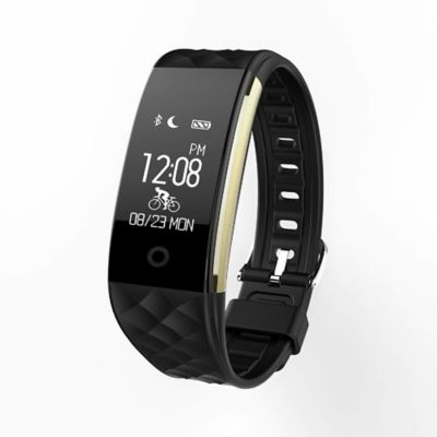 Reloj Deportivo Smartband S2 Impermeable Negro