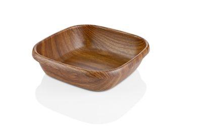 Bowl Cuadrado 28x7.5cm Plástico