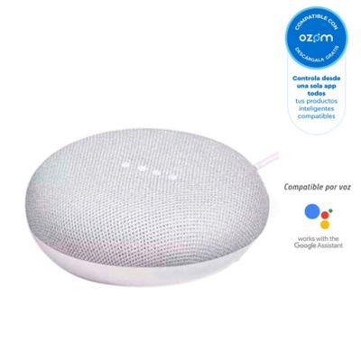Altavoz Inteligente Google Home Mini Asistente Gris