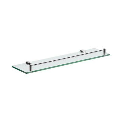 Rejilla Ducha Vidrio 90 15.5cm X 66.5cm X 9cm Cromo