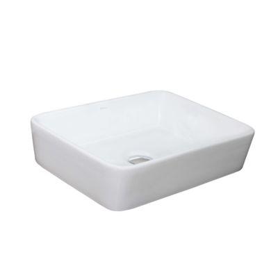 Lavamanos Rectangular Elegant 13x37x47.5 cm Blanco